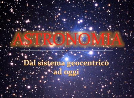 """Presentazione """"Astronomia"""""""