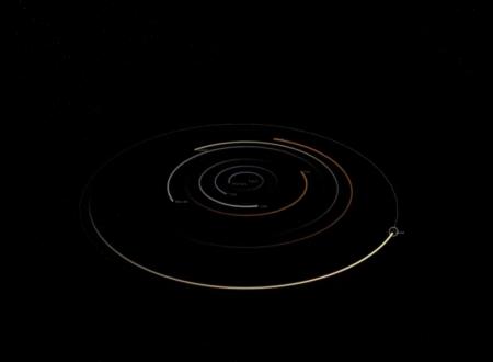 Video con simulazioni dei principali modelli astronomici