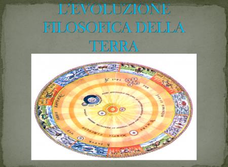"""Presentazione """"L'evoluzione filosofica della Terra"""""""