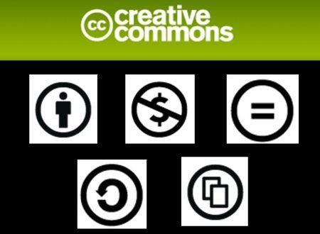 Utilizzo di materiale informativo illegale e licenze Creative Commons